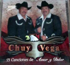Chuy Vega - 12 Canciones de Amor y Dolor [New CD]