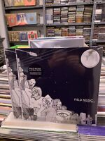 Field Music LP Flat White Moon Limited Edition Transparent Vinyl 2021 Versiegelt