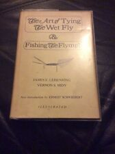 The Art Of Tying The Wet Fly & Fishing The Flymph By James E Leisenring