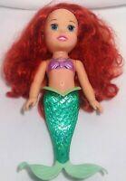 "Ariel little mermaid Disney doll toy sings talks girl plastic electronic 14"" O34"