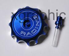 Blue CNC Gas Cap Fit Honda CRF250R CRF250X CRF450R CRF450X 2004-09 Fuel Tank Cap