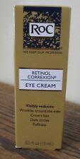 NEW!! RoC Retinol Correxion EYE CREAM - Wrinkles Dark Circles Puffiness .5 oz
