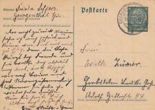 Briefmarken-Ganzsachen aus dem deutschen Reich mit Einzelfrankatur-Reich Deutsches