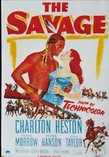 THE SAVAGE (DVD 1952 Charlton Heston)