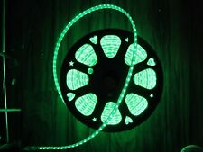 2M Green 110V  120V 5050SMD Flexible Flat LED Strip Rope Light+US Plug