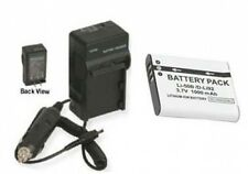 LI50B Battery + Charger for Olympus Stylus MJU 1010 MJU 1020 1030 SW 202167