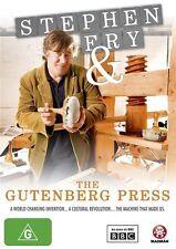 Stephen Fry and the Gutenberg Press (Medieval craftsmen) DVD NEW