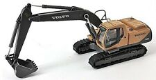 Volvo EC210 Tracked Excavator 1/87th Scale Yellow/Grey New Boxed T48 Post
