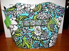 VERA BRADLEY SOLD OUT ISLAND BLOOMS SWEETHEART SHOULDER TOTE BAG NWT!