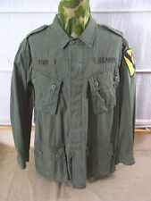 size XL US ARMY VIETNAM Feldjacke 1st Cavalry Field Jacket Jungle M64 oliv Jacke