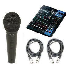 Yamaha MG10XU 10 Channel Stereo Mixer USB with Microphone and Cable