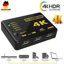 5 Port HDMI Umschalter Switch Switcher Splitter Verteiler 5 In 1 Full-HD 4K DHL