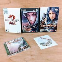 Guild Wars 2 PC DVD-ROM Software Video Game Bundle Lot