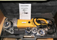 Central Machinery Portable Electric Pipe Threader 95955 Sealed Dies Excellet!