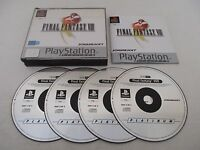 FINAL FANTASY VIII (8) - SONY PLAYSTATION - JEU PS1 PSX PLATINUM COMPLET PAL FR