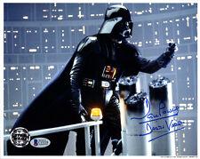 DAVID DAVE PROWSE SIGNED 8x10 PHOTO DARTH VADER STAR WARS OPX BECKETT BAS