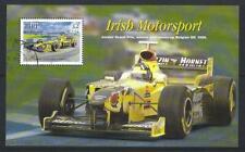 IRELAND 2001 IRISH MOTORSPORT MINIATURE SHEET  FINE USED