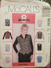 Vintage McCalls Sewing Pattern 9030 Printed in 1997 Size 12,14,16