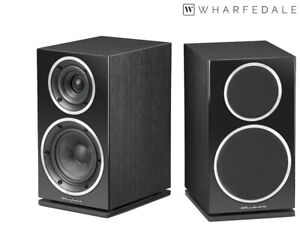 Wharfedale Diamond 220 - UK Top-Speaker - Altoparlante Paio - Nero - Nuovo