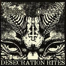 Dodsferd / Chronaexus - Desecration Rites CD 2013 black metal Obscure Abhorrence