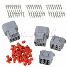 2 Set of Car Waterproof 12 Pin Way Terminals Electrical Wire Connector Plug AWG