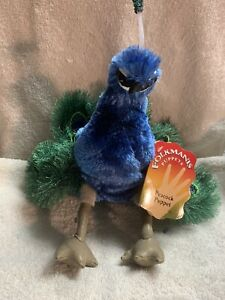 Folkmanis Peacock Puppet Folkmanis Puppets 11""