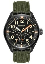 Men's Citizen Eco-Drive Military Nylon Watch BU2055-16E