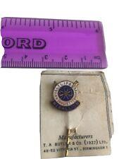 More details for rare early royal lifesaving society medallion bayonet pin badge