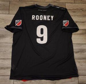 Adidas 2018 Authentic DC United Wayne Rooney Jersey Sz 2XL NWOT MLS