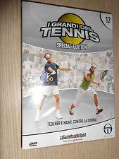 DVD N°12 I GRANDI DEL TENNIS SPECIAL EDITION FEDERER E NADAL CONTRO LA STORIA