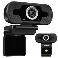 HD 1080P USB 2.0 Webcam Desktop Laptop Computer PC Camera Video With Microphone