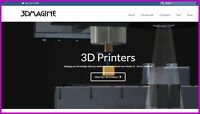 3D PRINTER Dropshipping Website £949 A SALE|FREE Domain|FREE Hosting|Traffic