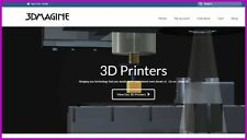 3D PRINTER Website Earn £949.76 A SALE|FREE Domain|FREE Hosting|FREE Traffic