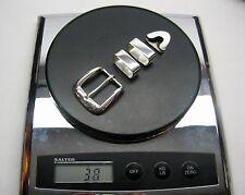 "Sterling silver 925 buckle 4 piece set 38 g w/Genuine Lizard-1-1/4 to 1""belt USA"