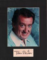 Tom Poston Signed Autographed Cut Matted 11x14 w/COA 073019DBT2