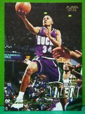 Ray Allen regular card 1997-98 Fleer #106