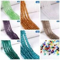 Transparente Kristall Facettierte Edelsteine Lose Perlen DIY Kristallperlen Neu