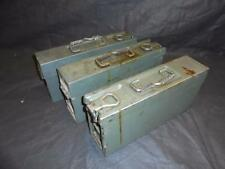 Grey/Green German Yugoslavian Military Army MG53 Ammunition Ammo Box Metal Tin