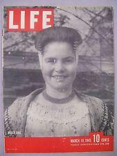 LIFE MAGAZINE MARCH 19 1945 DUTCH GIRL