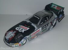 1:24th Scale Action John Force 2002 Elivs 25th Anniversary Ford Mustang - Silver