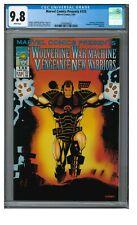 Marvel Comics Presents #155 (1994) Late Issue War Machine Wolverine CGC 9.8 FF50