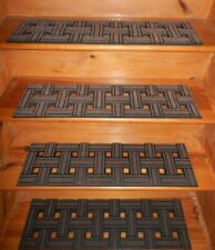 4 =  Step = 8'' x 30''  Outdoor / Indoor  Non-Slip Staircase 100% Rubber .
