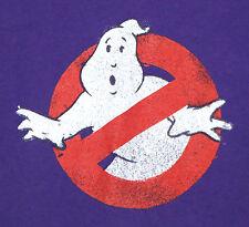 GHOSTBUSTERS Logo T-SHIRT - MEDIUM - PURPLE - Bill Murray