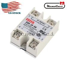 Ssr 25da Solid State Relay Module 25a 250v 3 32v Dc Input Ac 24v 380v Output