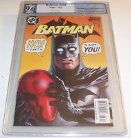Batman 638 - Graded NM+ 9.6 - Jason Todd revealed as Red Hood
