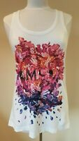 Alexander McQueen Womans Vest T Shirt Top Size S UK 10-12 BNWT