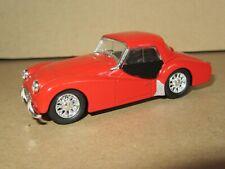 659P Rare Vitesse Portugal Triumph TR3A 1956 Hard Top Fermé Rouge 1:43