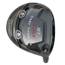 Mondeo Jet Black Cast Titanium Golf Driver Graphite Shaft & Head Cover