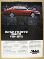 1966 Saab 850 Red ZZZAP Classic Vintage Advertisement Y17