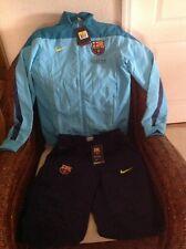 Nike FC Barcelona LFP soccer/futbol Practice Set Jacket/pants NWT Size S Men's